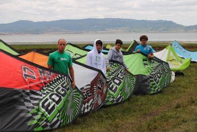 Equipo de Kite-Race ALOHA